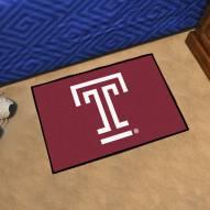 Temple Owls Logo Starter Rug