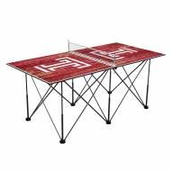 Temple Owls Pop Up 6' Ping Pong Table