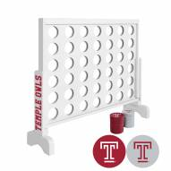 Temple Owls Victory Connect 4