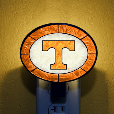 Tennessee Volunteers NCAA Stained Glass Night Light