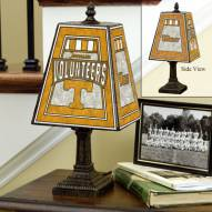 Tennessee Volunteers NCAA Hand-Painted Art Glass Table Lamp