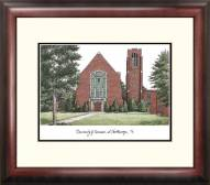 Tennessee Chattanooga Mocs Alumnus Framed Lithograph