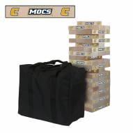 Tennessee Chattanooga Mocs Giant Wooden Tumble Tower Game
