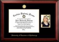 Tennessee Chattanooga Mocs Gold Embossed Diploma Frame with Portrait
