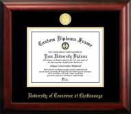 Tennessee Chattanooga Mocs Gold Embossed Diploma Frame