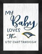 Tennessee Chattanooga Mocs My Baby Loves Framed Print