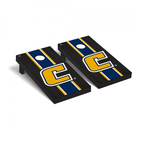 Tennessee Chattanooga Mocs Onyx Stained Cornhole Game Set