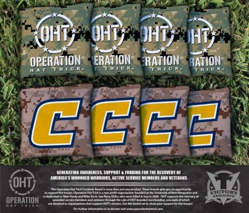 Tennessee Chattanooga Mocs Operation Hat Trick Cornhole Bag Set