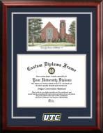 Tennessee Chattanooga Mocs Spirit Graduate Diploma Frame