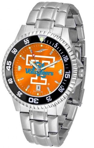 Tennessee Volunteers Competitor Steel AnoChrome Color Bezel Men's Watch