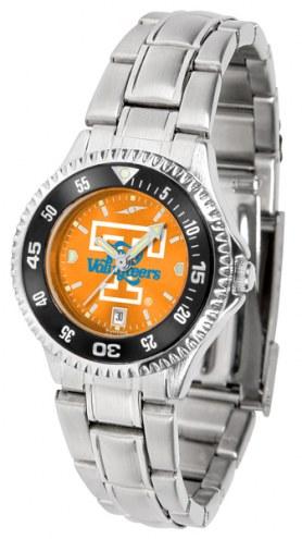 Tennessee Volunteers Competitor Steel AnoChrome Women's Watch - Color Bezel