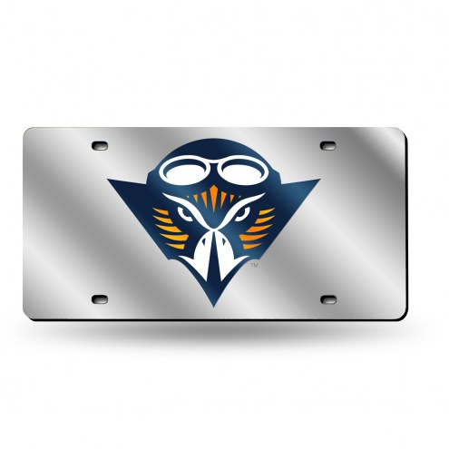 Tennessee-Martin Skyhawks Silver Laser License Plate