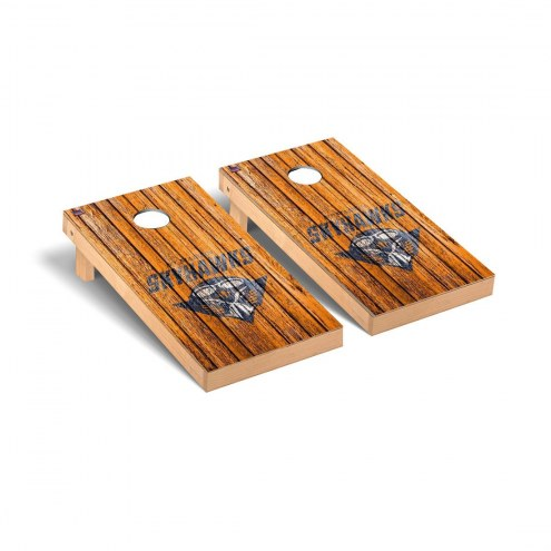 Tennessee-Martin Skyhawks Weathered Cornhole Game Set