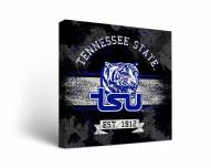 Tennessee State Tigers Banner Canvas Wall Art