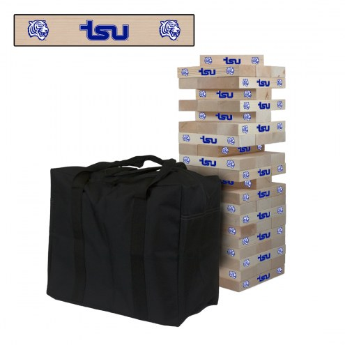 Tennessee State Tigers Giant Wooden Tumble Tower Game