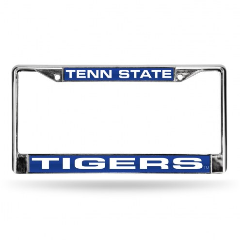 Tennessee State Tigers Laser Chrome License Plate Frame