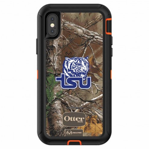 Tennessee State Tigers OtterBox iPhone X Defender Realtree Camo Case