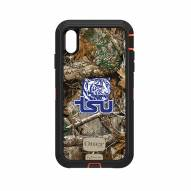 Tennessee State Tigers OtterBox iPhone XS Max Defender Realtree Camo Case