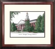 Tennessee Tech Golden Eagles Alumnus Framed Lithograph