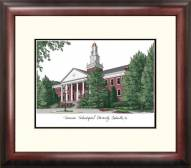 Tennessee Tech Golden Eagles Alumnus Framed Lithograph
