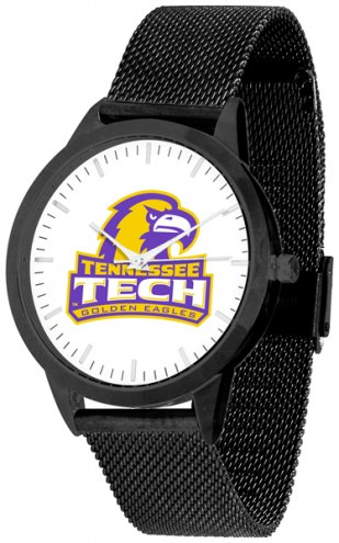 Tennessee Tech Golden Eagles Black Mesh Statement Watch