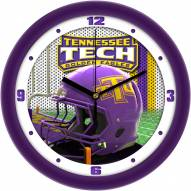 Tennessee Tech Golden Eagles Football Helmet Wall Clock