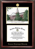 Tennessee Tech Golden Eagles Gold Embossed Diploma Frame with Lithograph