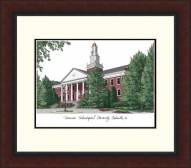 Tennessee Tech Golden Eagles Legacy Alumnus Framed Lithograph