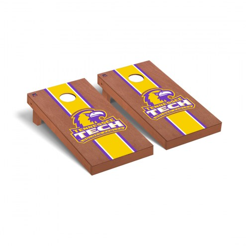 Tennessee Tech Golden Eagles Rosewood Stained Cornhole Game Set