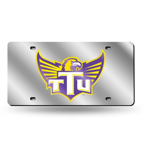 Tennessee Tech Golden Eagles Silver Laser License Plate
