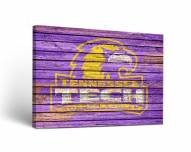Tennessee Tech Golden Eagles Weathered Canvas Wall Art