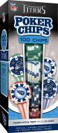 Tennessee Titans 100 Piece Poker Chips