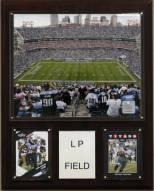 """Tennessee Titans 12"""" x 15"""" Stadium Plaque"""