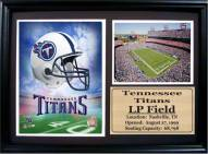 "Tennessee Titans 12"" x 18"" Photo Stat Frame"