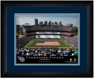 Tennessee Titans 13 x 16 Personalized Framed Stadium Print
