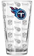 Tennessee Titans 16 oz. Sandblasted Pint Glass