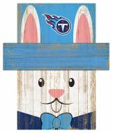 """Tennessee Titans 19"""" x 16"""" Easter Bunny Head"""