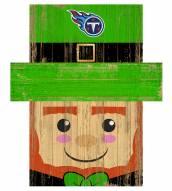 "Tennessee Titans 19"" x 16"" Leprechaun Head"
