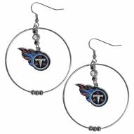 """Tennessee Titans 2"""" Hoop Earrings"""