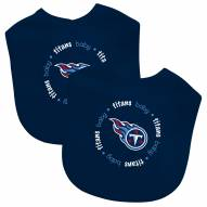 Tennessee Titans 2-Pack Baby Bibs