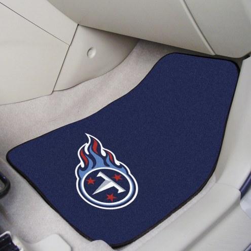 Tennessee Titans 2-Piece Carpet Car Mats