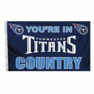 Tennessee Titans 3' x 5' Country Flag