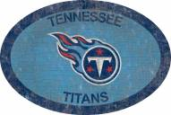 """Tennessee Titans 46"""" Team Color Oval Sign"""
