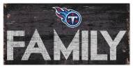 """Tennessee Titans 6"""" x 12"""" Family Sign"""