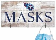 """Tennessee Titans 6"""" x 12"""" Mask Holder"""