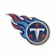 """Tennessee Titans 8"""" Team Logo Cutout Sign"""
