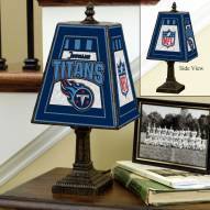 Tennessee Titans Art Glass Table Lamp