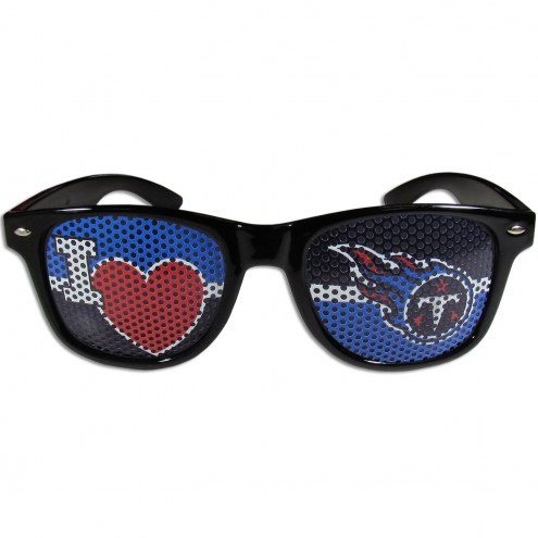 Tennessee Titans Black I Heart Game Day Shades