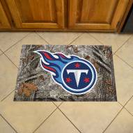 Tennessee Titans Camo Scraper Door Mat