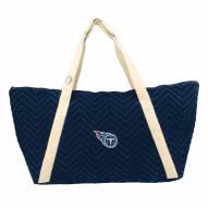 Tennessee Titans Chevron Stitch Weekender Bag